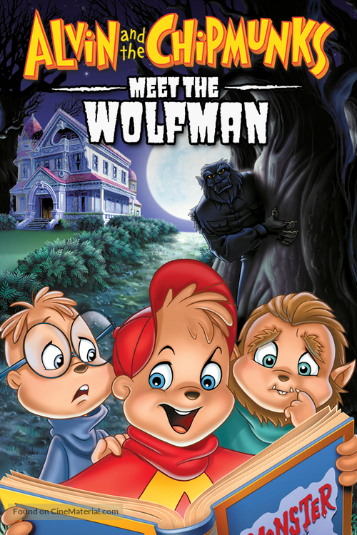 Alvin and the Chipmunks Meet the Wolfman - DVD movie cover