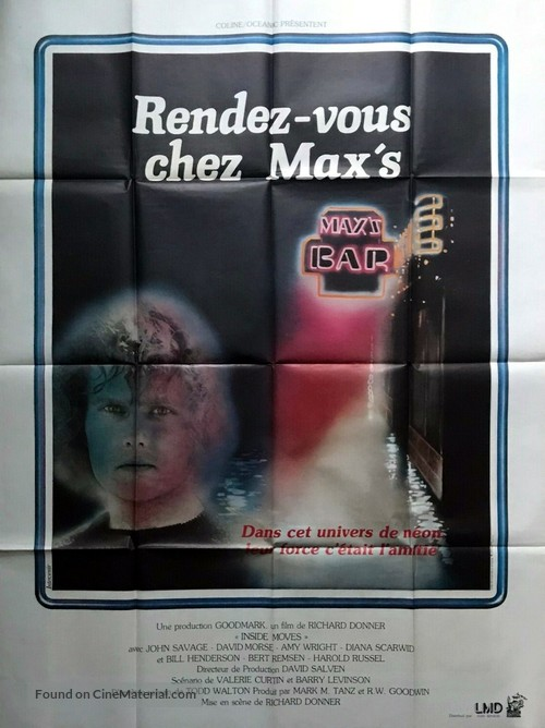 Inside Moves - French Movie Poster