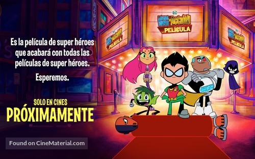 Teen Titans Go! To the Movies - Argentinian Movie Poster