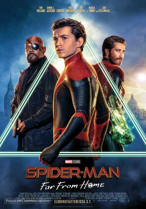 Spider-Man: Far From Home - Finnish Movie Poster