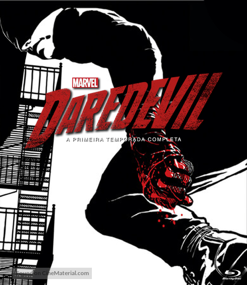 """Daredevil"" - Brazilian Movie Cover"