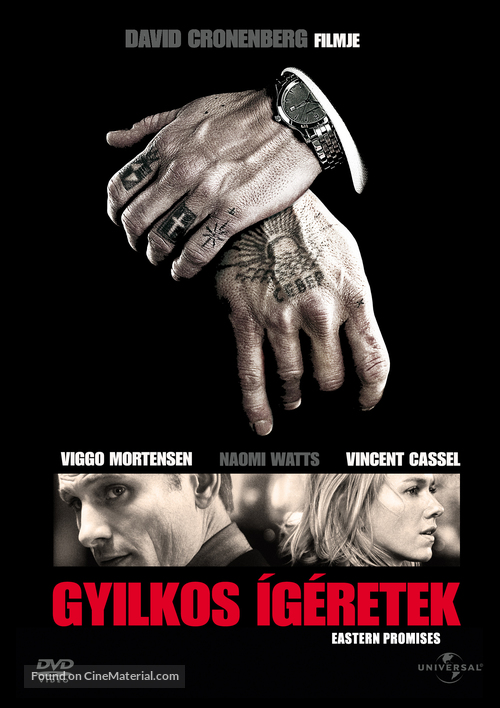 Eastern Promises - Hungarian Movie Cover