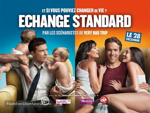 The Change-Up - French Movie Poster