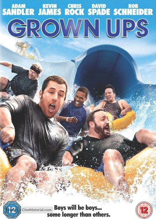 Grown Ups - British DVD movie cover