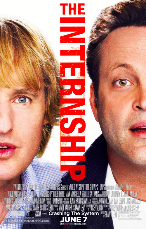 The Internship - Movie Poster