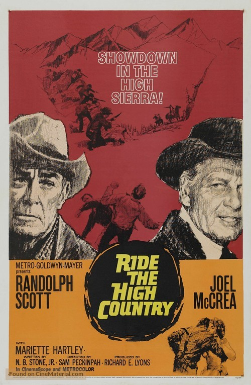 Ride the High Country - Movie Poster