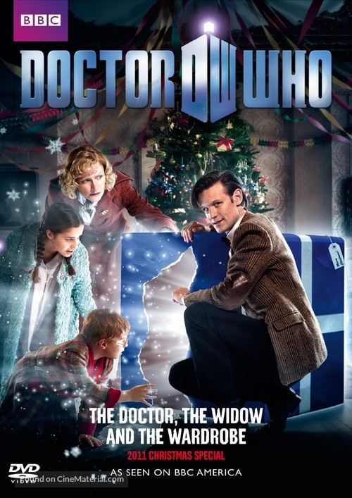 """""""Doctor Who"""" - DVD movie cover"""