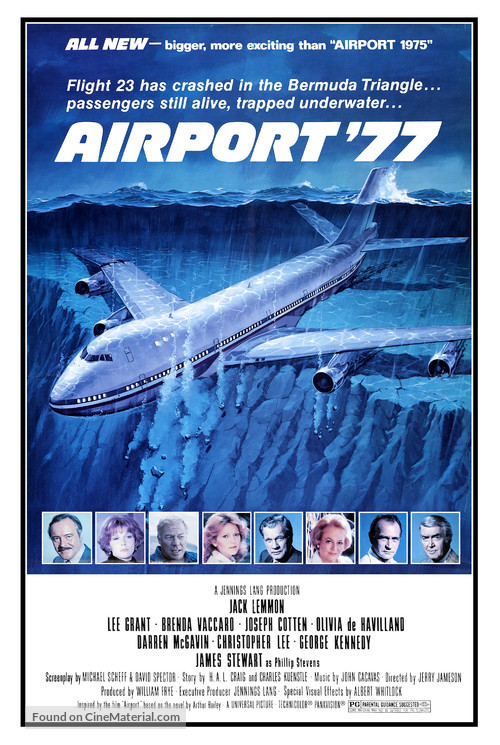 Airport '77 - Movie Poster