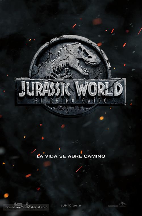 Jurassic World: Fallen Kingdom - Argentinian Movie Poster