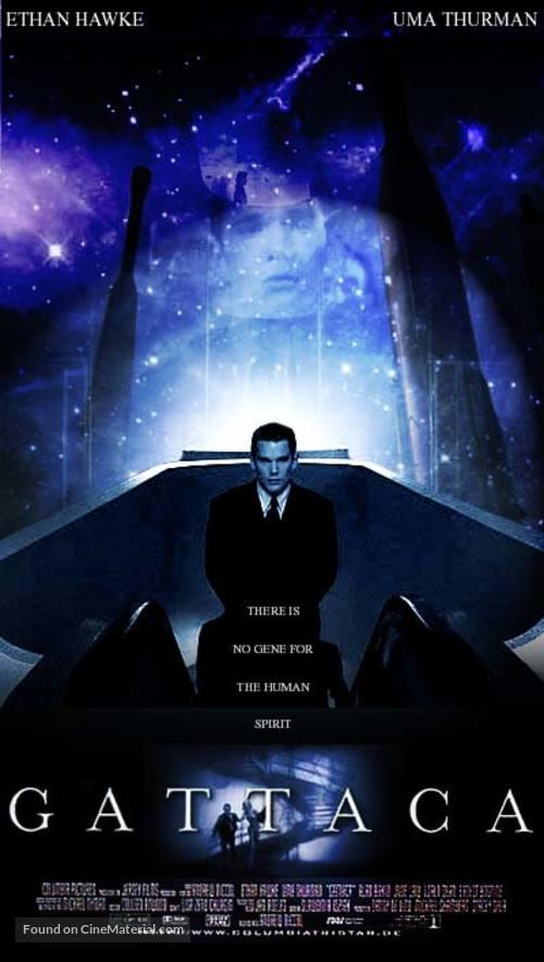 Gattaca - German Movie Poster