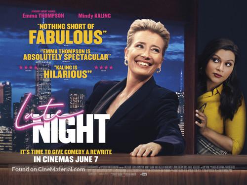 Late Night - British Movie Poster