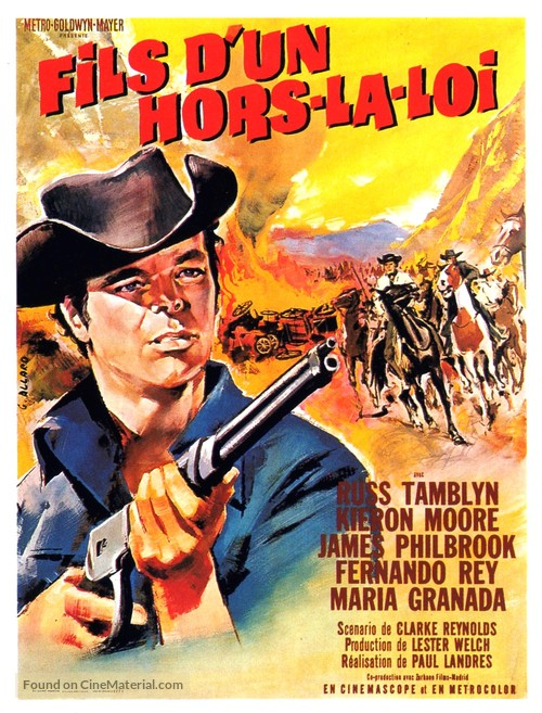 Son of a Gunfighter - French Movie Poster