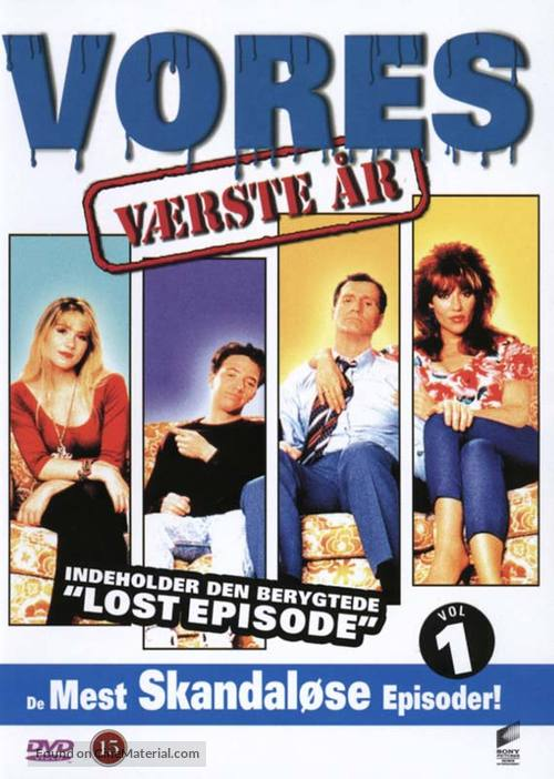 """""""Married with Children"""" - Danish DVD movie cover"""