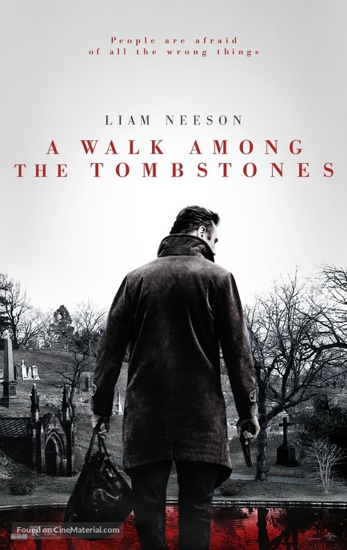 A Walk Among the Tombstones - Movie Poster