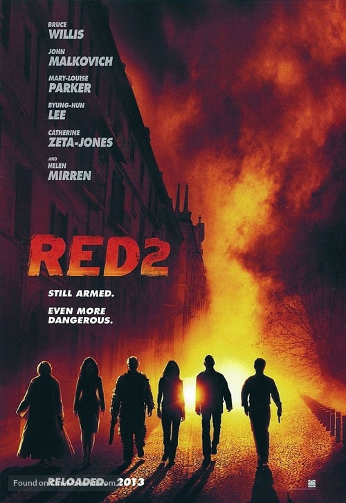 RED 2 - Movie Poster