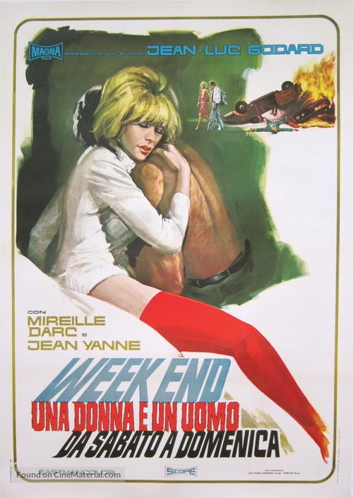 Week End - Italian Movie Poster