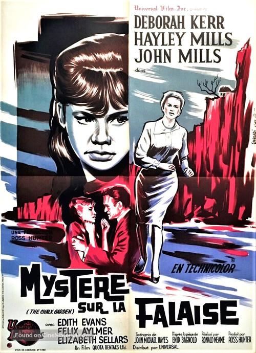 The Chalk Garden - French Movie Poster