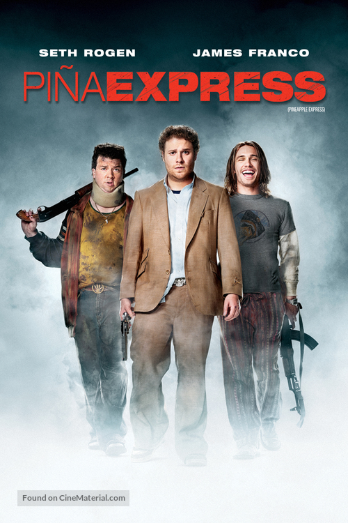 Pineapple Express - Argentinian DVD movie cover