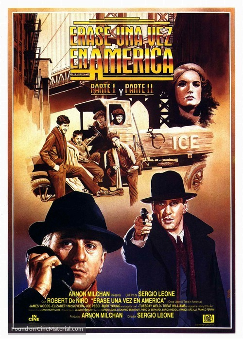 Once Upon a Time in America - Spanish Movie Poster