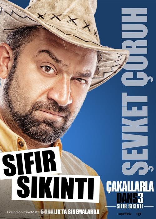 Çakallarla Dans 3: Sifir Sikinti - Turkish Character movie poster