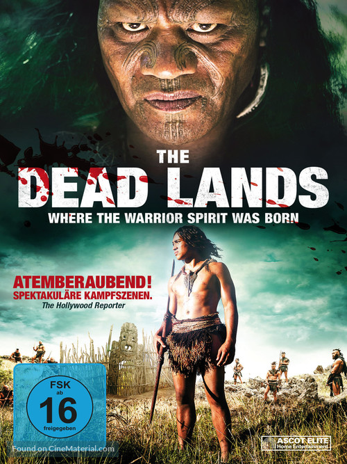 The Dead Lands - German Blu-Ray movie cover