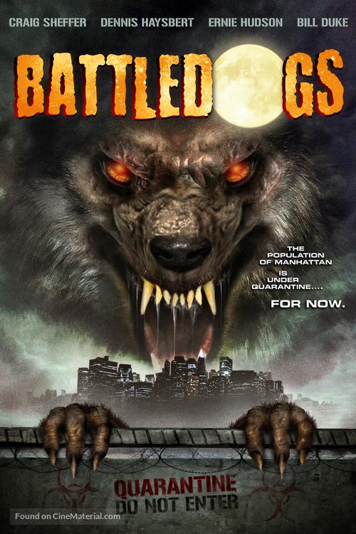 Battledogs - DVD movie cover
