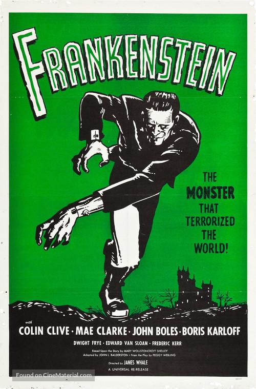 1931 frankenstein movie posters