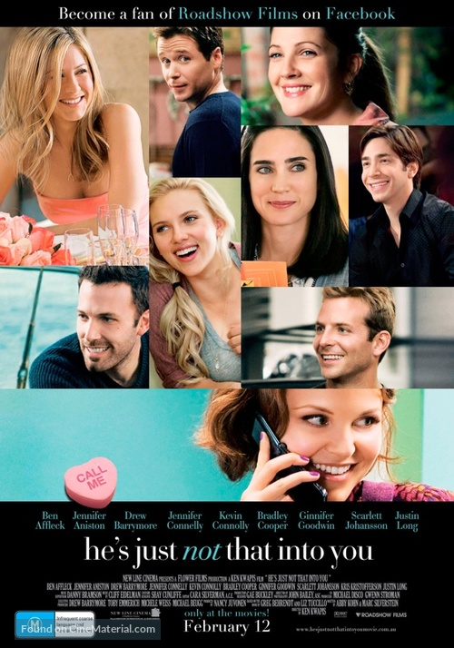 He's Just Not That Into You - Australian Movie Poster