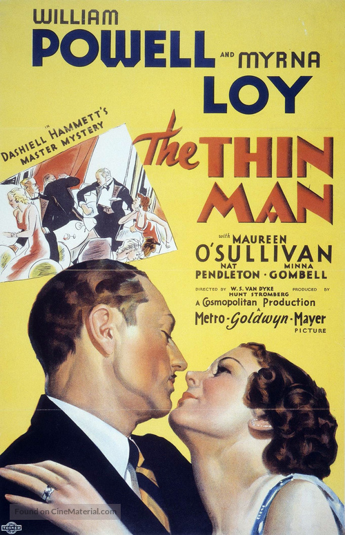 The Thin Man - Movie Poster