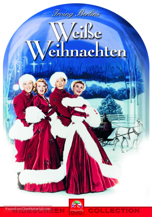 White Christmas - German DVD movie cover