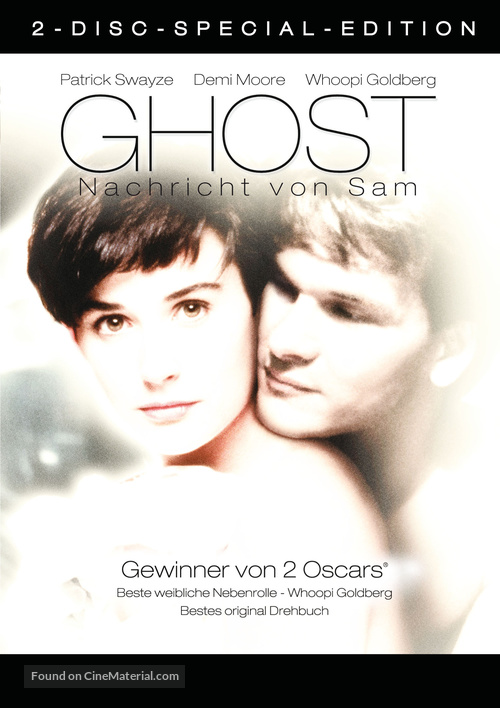 Ghost 1990 German Movie Cover