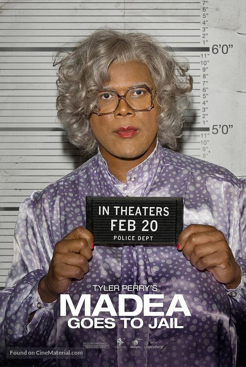 Madea Goes to Jail - Movie Poster