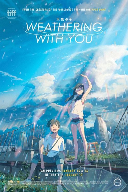 Weathering with You - Movie Poster