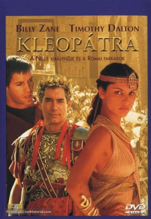 Cleopatra - Hungarian DVD movie cover