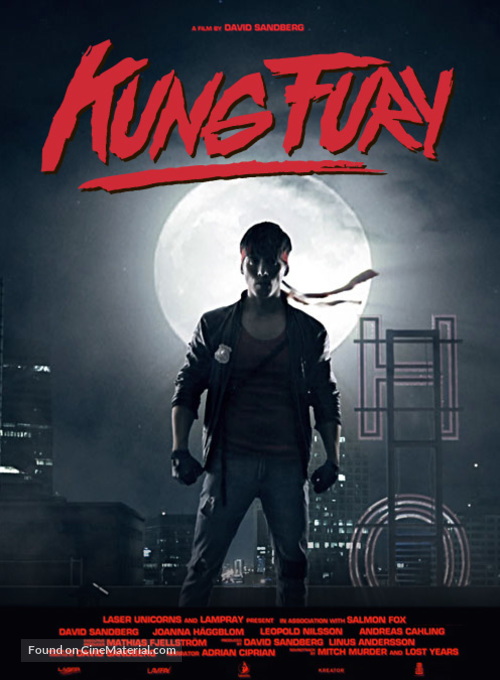 Kung Fury - Swedish Movie Poster