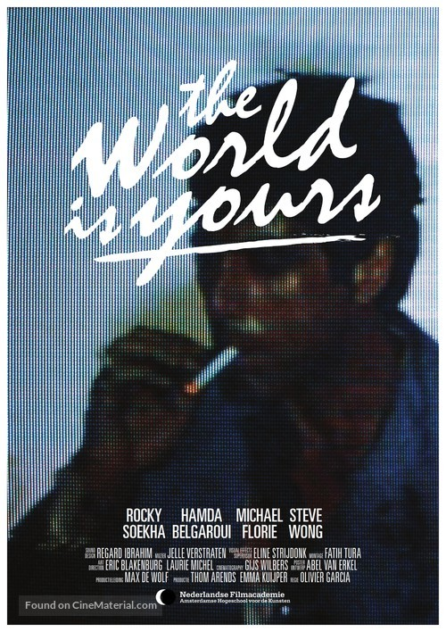 The World Is Yours - Dutch Movie Poster