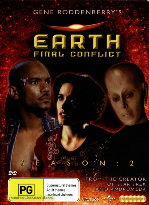 """Earth: Final Conflict"" - Australian Movie Cover"