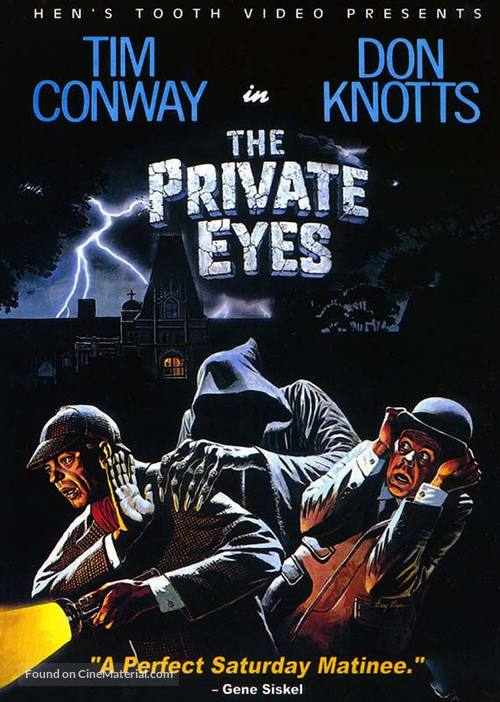 The Private Eyes - DVD movie cover