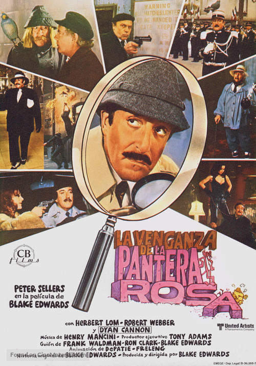 Revenge of the Pink Panther - Spanish Movie Poster