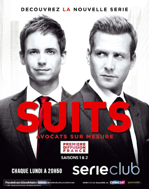 """Suits"" - French Movie Poster"