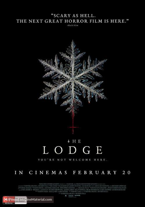 The Lodge - Australian Movie Poster