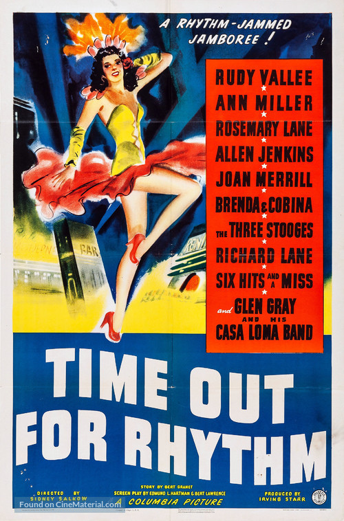 Time Out for Rhythm - Movie Poster