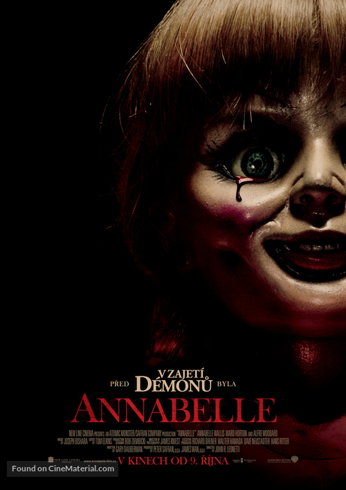 Annabelle - Czech Movie Poster
