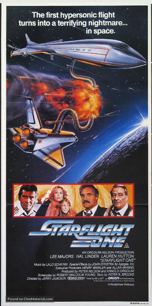 Starflight: The Plane That Couldn't Land - Australian Movie Poster