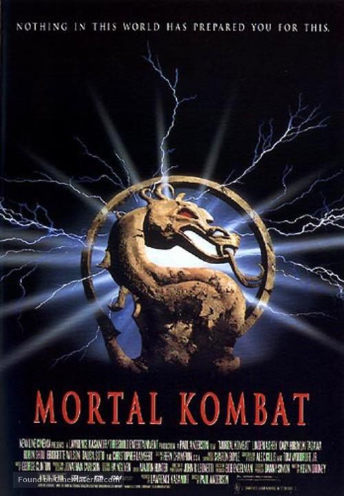 Mortal Kombat - Theatrical poster