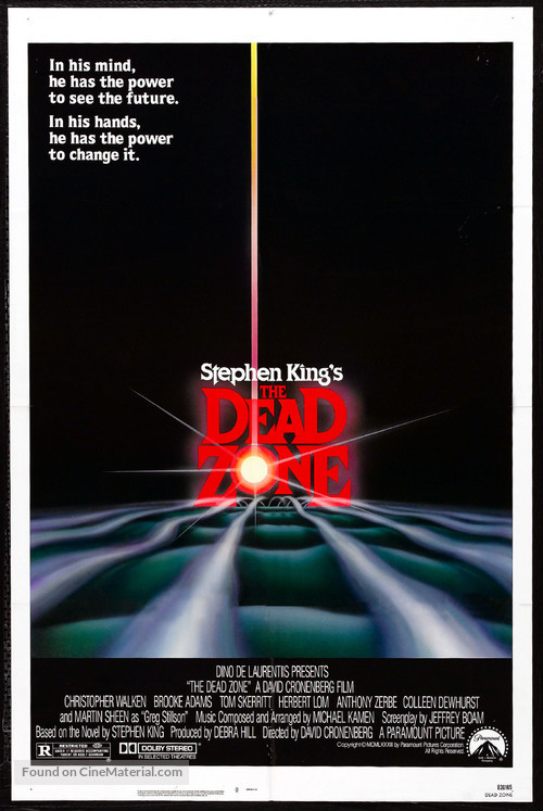 The Dead Zone - Movie Poster