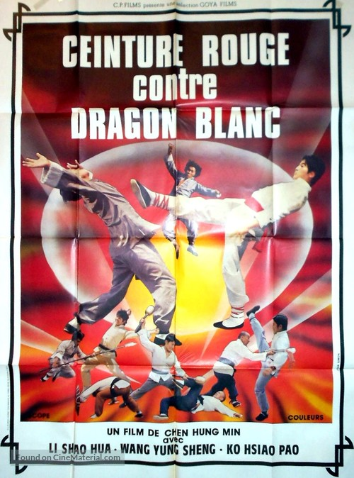 18 Weapons of Kung Fu - French Movie Poster