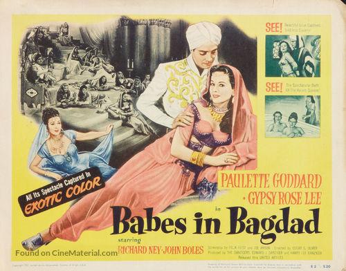 Babes in Bagdad - Movie Poster