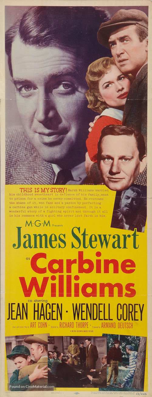 Carbine Williams - Movie Poster
