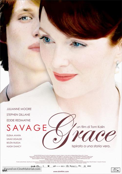 Savage Grace - Italian Movie Poster